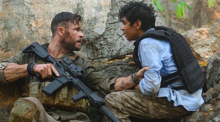 Chris Hemsworth en 'Tyler Rake'