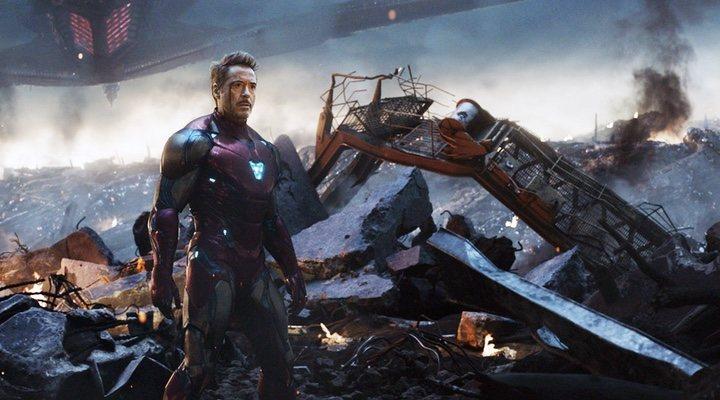 Robert Downey Jr. en 'Vengadores: Endgame (2019)'