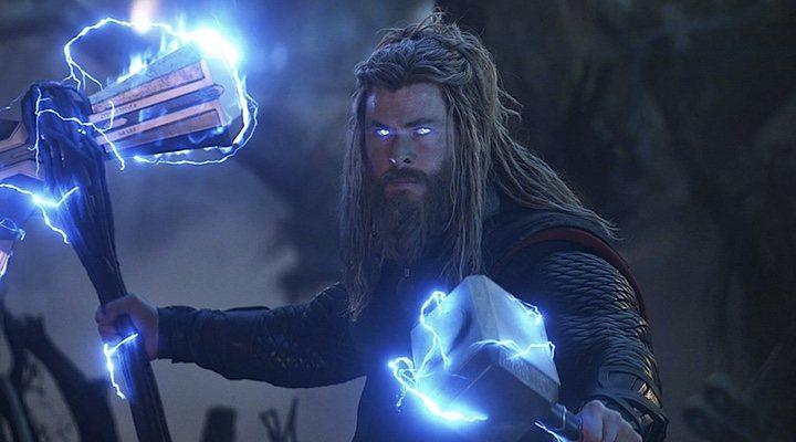 Chris Hemsworth como Thor en 'Vengadores: Endgame (2019)'