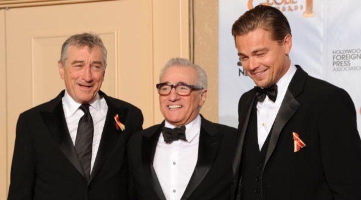 DeNiro, Scorsese y DiCarpio