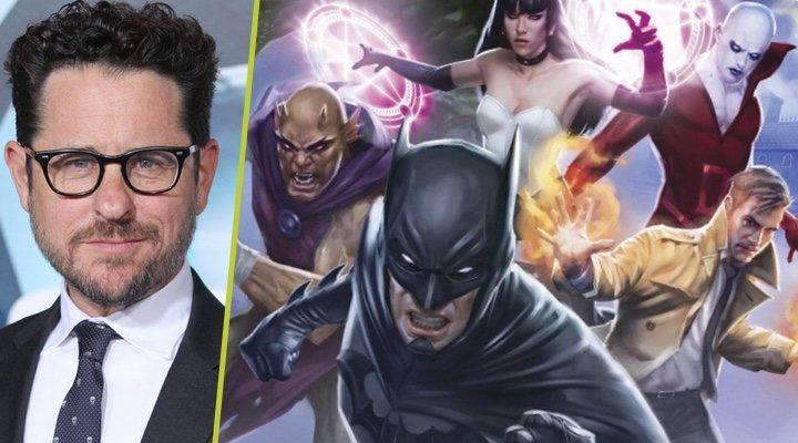 J.J. Abrams y una imagen de 'Liga de la Justicia Oscura'