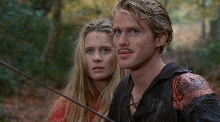 Robin Wright y Cary Elwes en 'La princesa prometida' (1987)