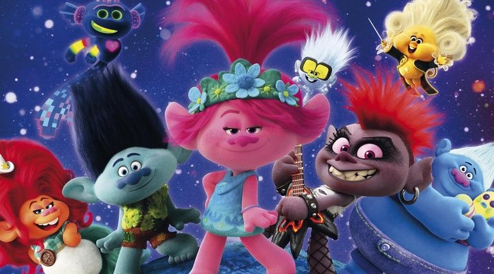Imagen promocional de 'Trolls 2: Gira mundial' (2020)