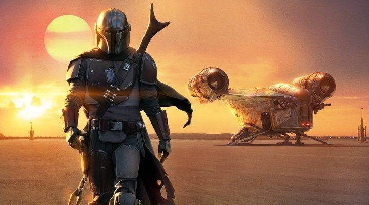 Imagen promocional de 'The Mandalorian'