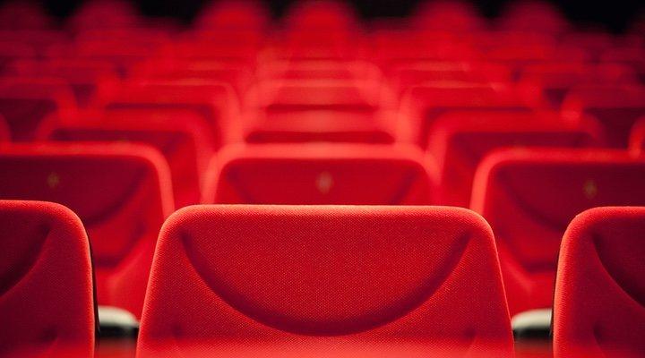 Imagen de una sala de cine vacía