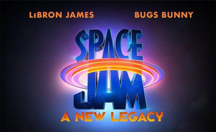 Logo y título de 'Space Jam 2'