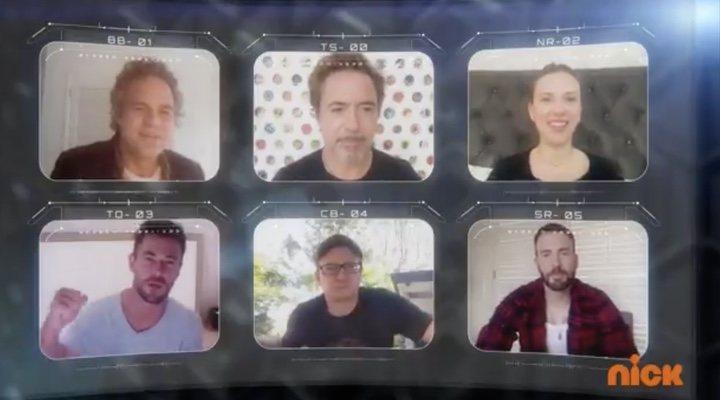 Los Vengadores en los Kids Choice Awards 2020