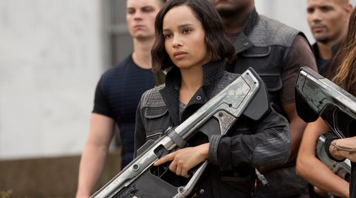 Zoë Kravitz in 'The series Divergent'