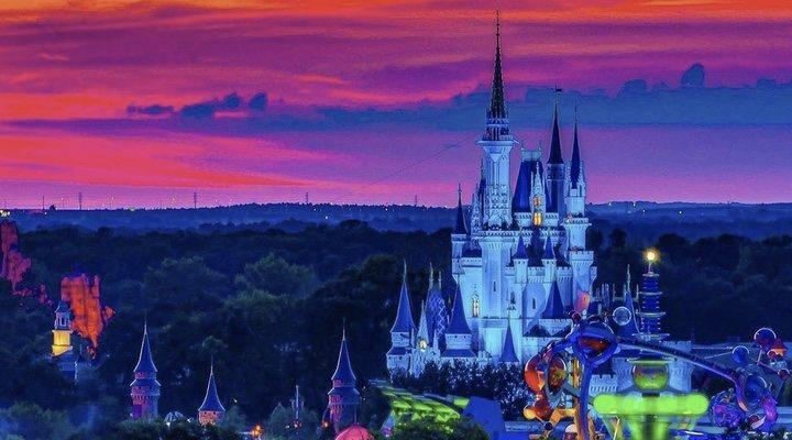 Imagen del castillo de Walt Disney World