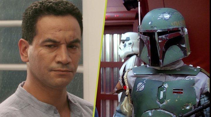 Temuera Morrison y Boba Fett en 'Star Wars'