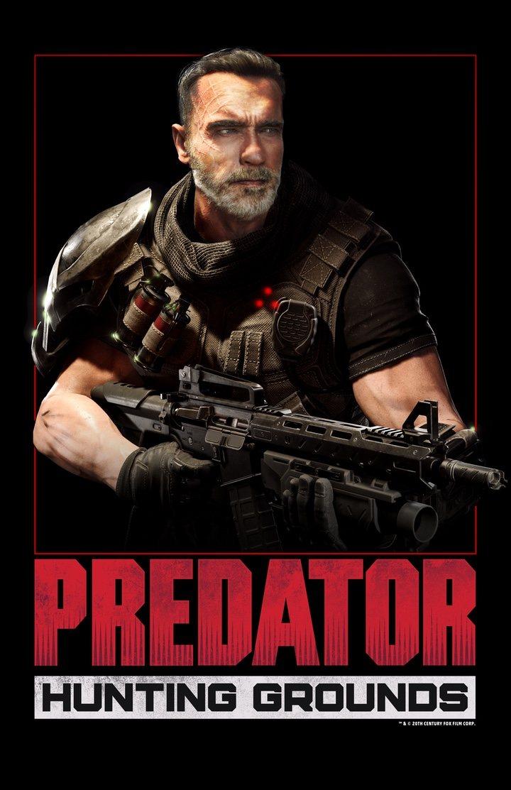 Arnold Schwarzenegger en 'Predator: Hunting Grounds'