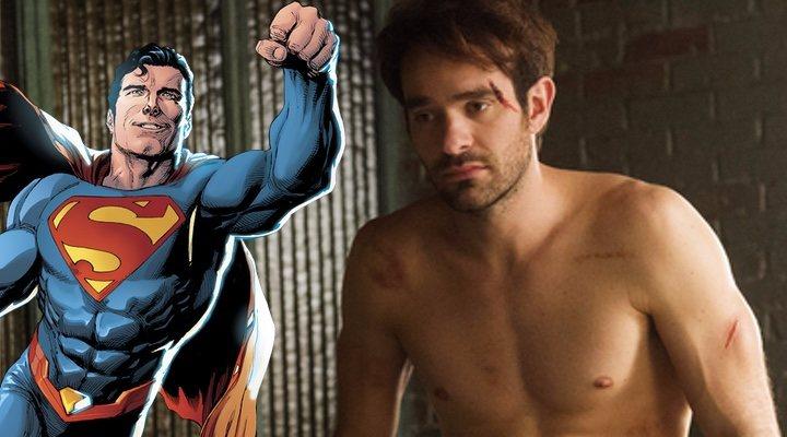 Superman y Charlie Cox