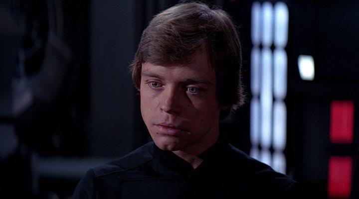 Mark Hamill en 'El Retorno del Jedi'
