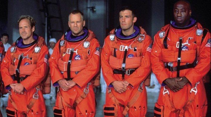Bruce Willis en 'Armageddon'