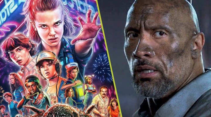 'Stranger Things' y Dwayne Johnson