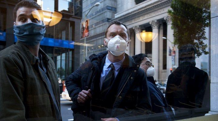 Jude Law en 'Contagio' (2011)