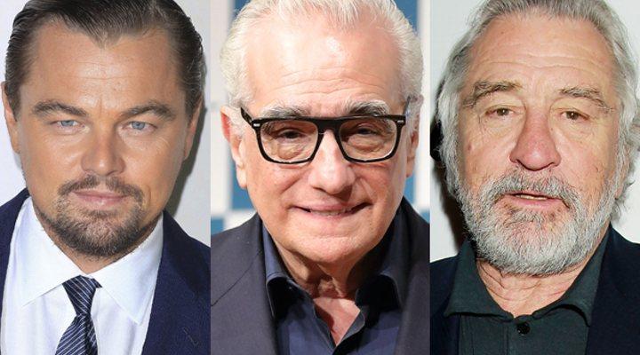 Martin Scorsese, Leonardo Dicaprio, Robert De Niro