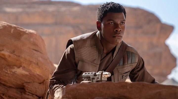 John Boyega en 'Star wars'