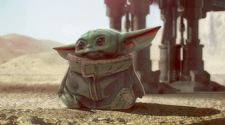 Diseño de Baby Yoda de Chris Alzmann