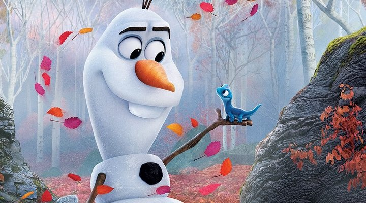 Olaf, personaje al que Josh Gad presta su voz, en 'Frozen'
