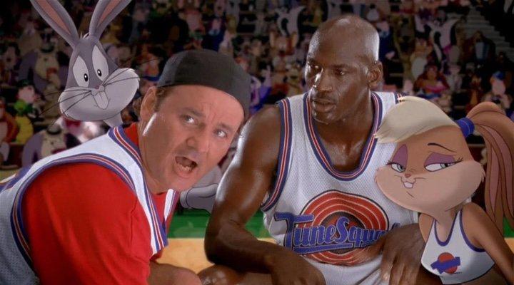 Bill Murray y Michael Jordan en 'Space Jam'