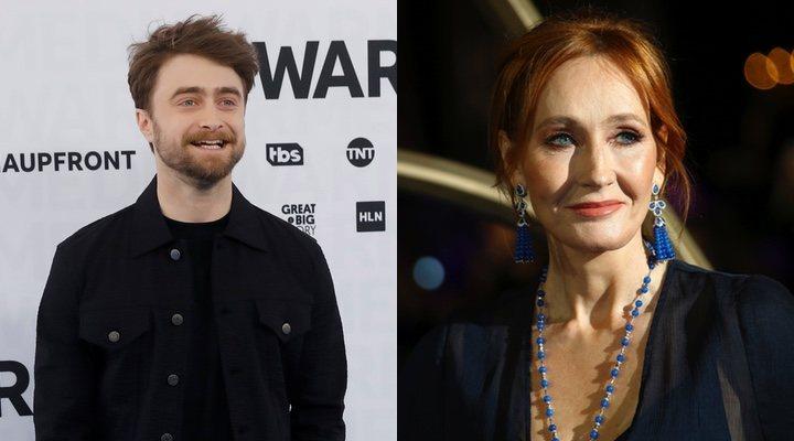 Daniel Radcliffe y J.K.Rowling