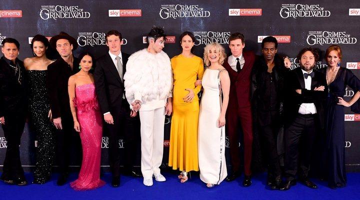 Premiere de 'Animales fantásticos: Los crímenes de Grindelwald'
