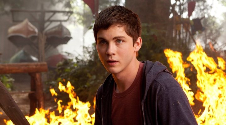 Logan Lerman en 'Percy Jackson'