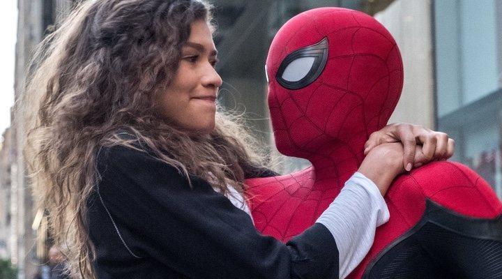 Zendaya en 'Spider-man: Lejos de casa'