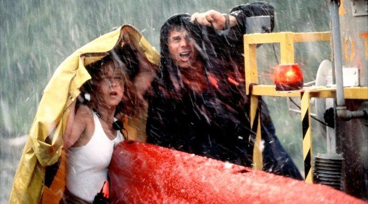Helen Hunt y Bill Paxton en 'Twister' (1996)