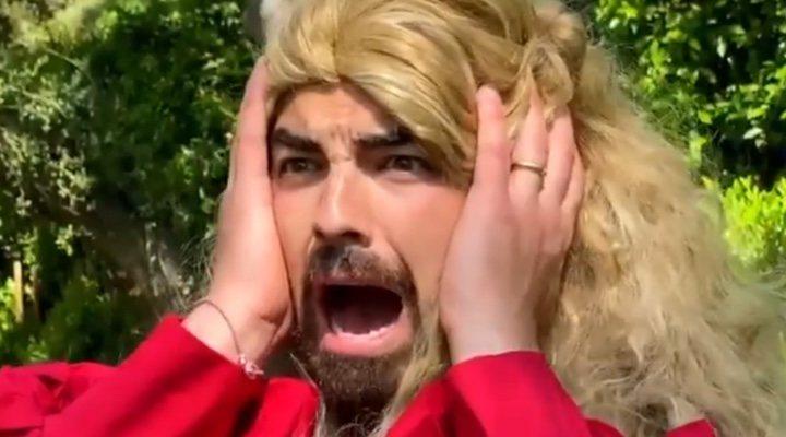 Joe Jonas como Buttercup en 'La princesa prometida'