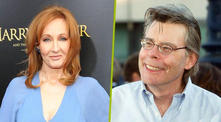 J.K. Rowling y Stephen King