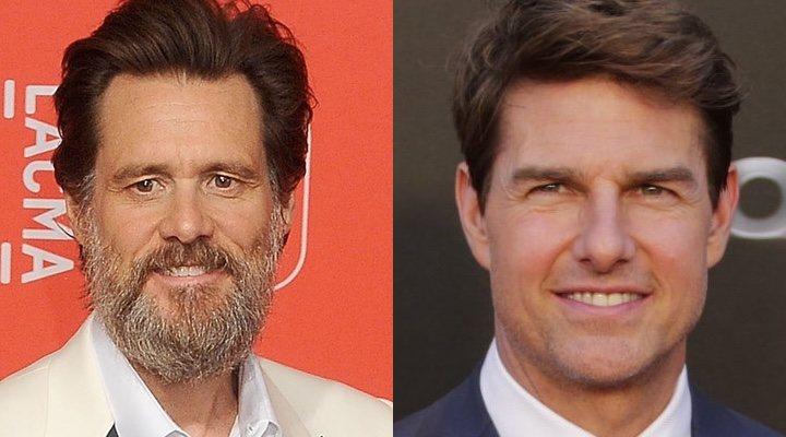 Jim Carrey y Tom Cruise