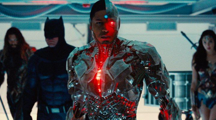 Ray Fisher, Cyborg en 'Liga de la Justicia'