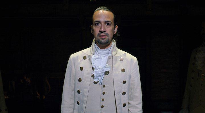 Lin-Manuel Miranda en 'Hamilton'
