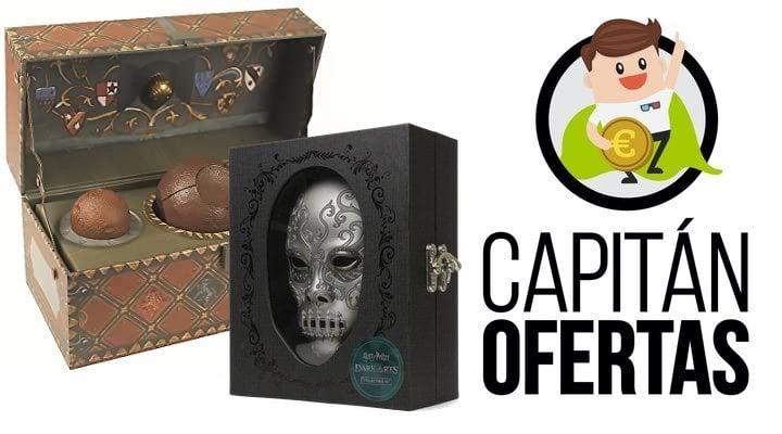 Ofertas de merchandising set de Quidditch y Diario de las Artes Oscuras de 'Harry Potter'