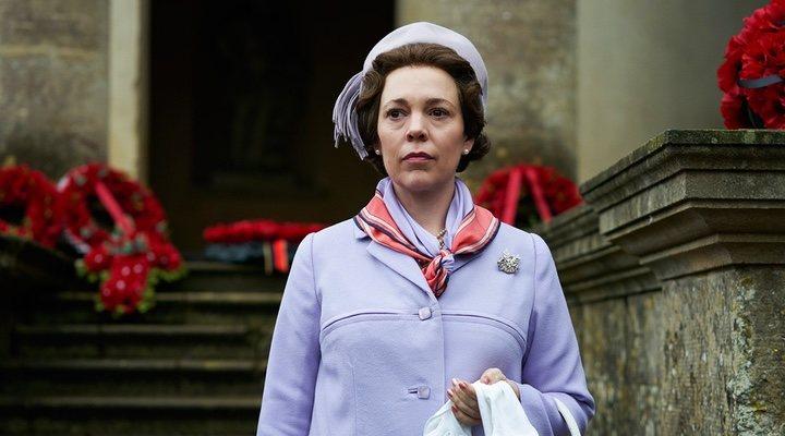 Olivia Colman en la tercera temporada de 'The Crown'