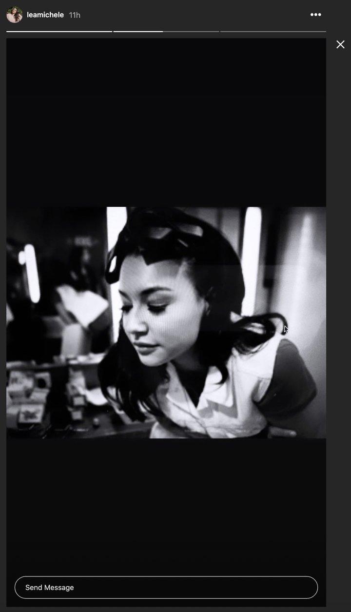 Naya Rivera en las stories de Lea Michele