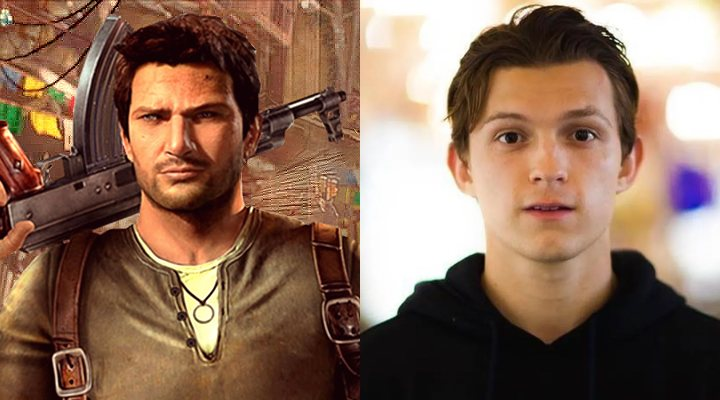 Uncharted y Tom Holland