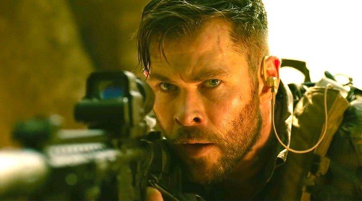 Chris Hemsworth en 'Tyler Rake' (2020)