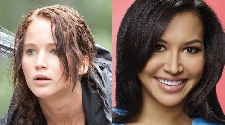 Jennifer Lawrence y Naya Rivera