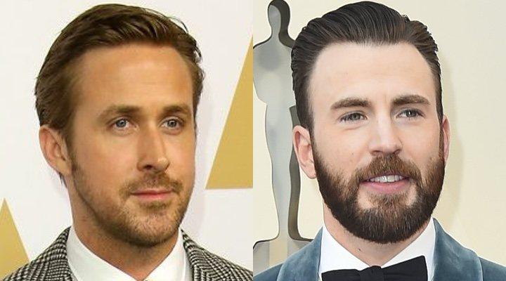 Ryan Gosling y Chris Evans