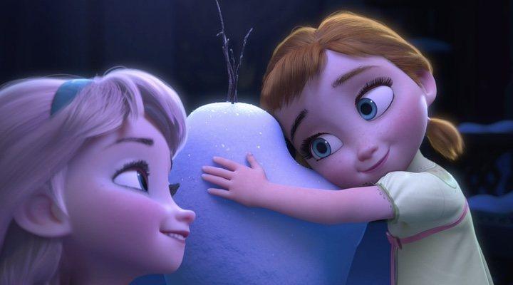 Elsa y Anna en 'Frozen'