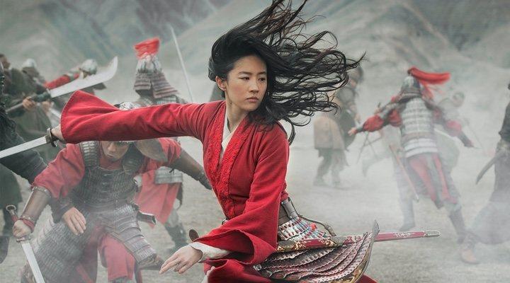 Fotograma del remake en acción real de 'Mulan'