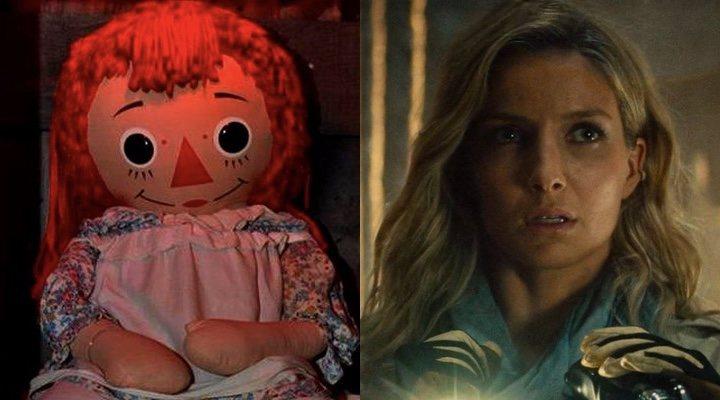 La muñeca real en la que se inspira Annabelle y Annabelle Wallis