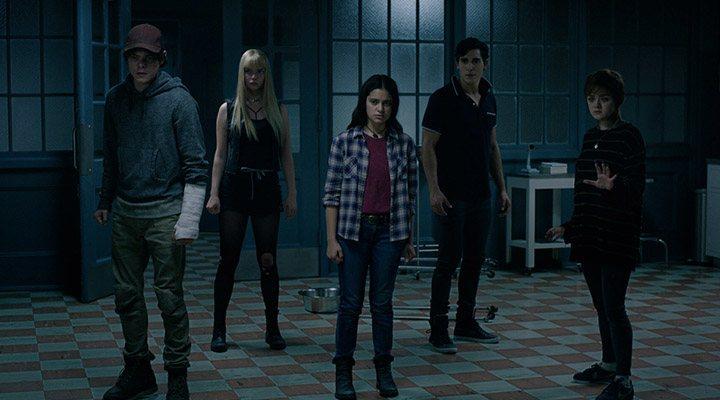 El reparto de 'Los Nuevos Mutantes'