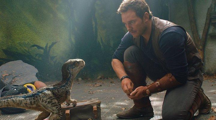 Chris Pratt en 'Jurassic World' (2015)
