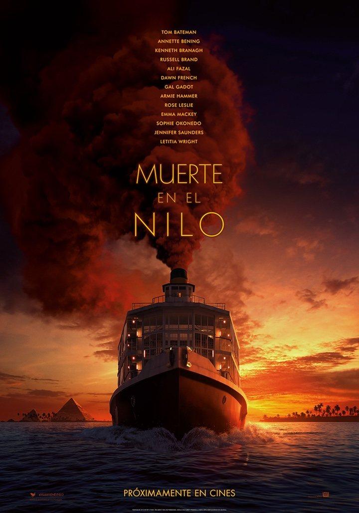 Poster 'Muerte en el Nilo'