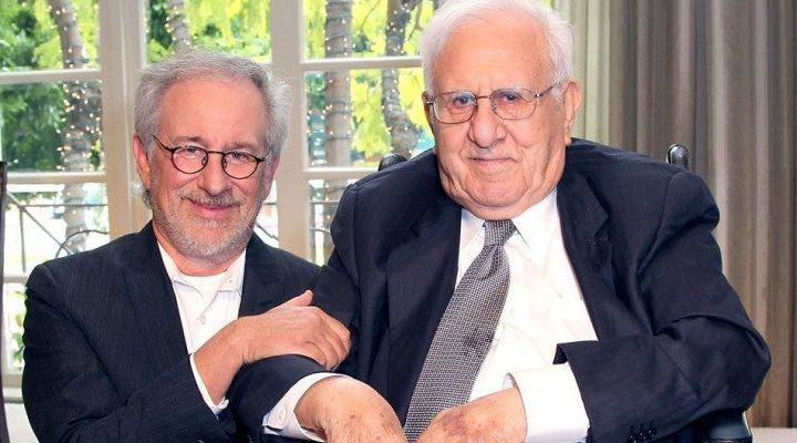 Steven Spielberg  y su padre, Arnold Spielberg