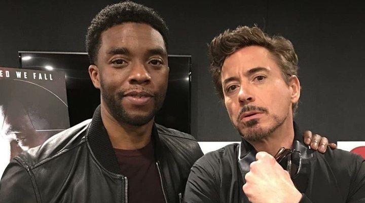 Robert Downey Jr. y Chadwick Boseman